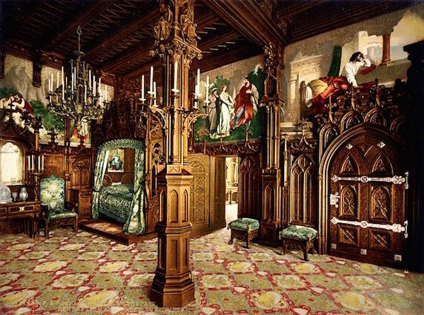 neuschwanstein bedroom